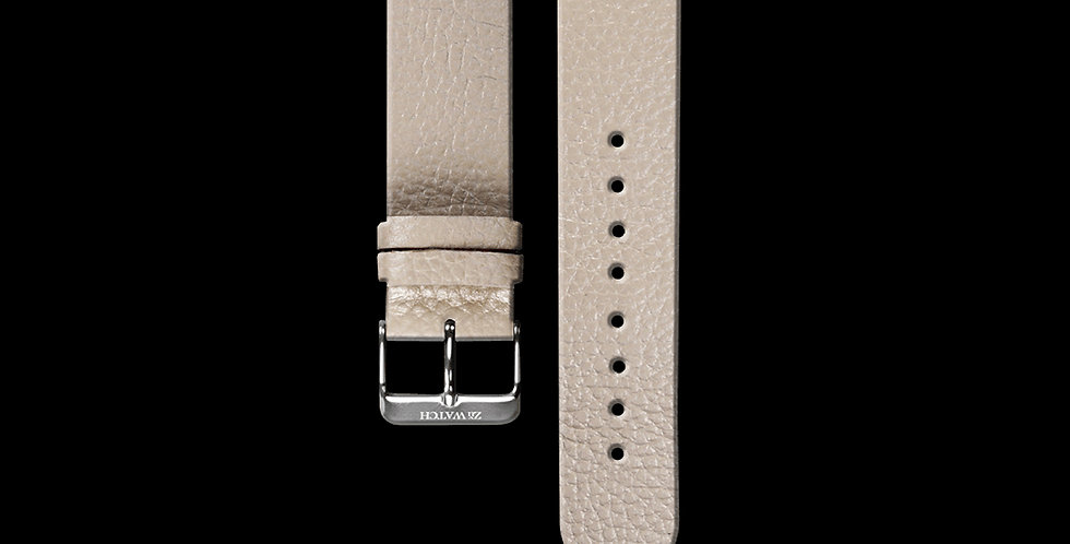 EMBOSSED LEATHER|APRICOT