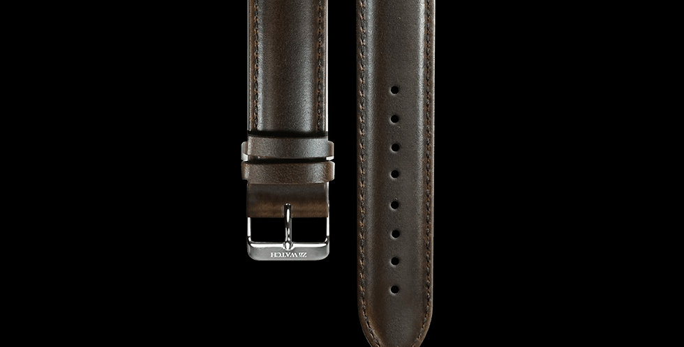 ITALY LEATHER|DARK BROWN