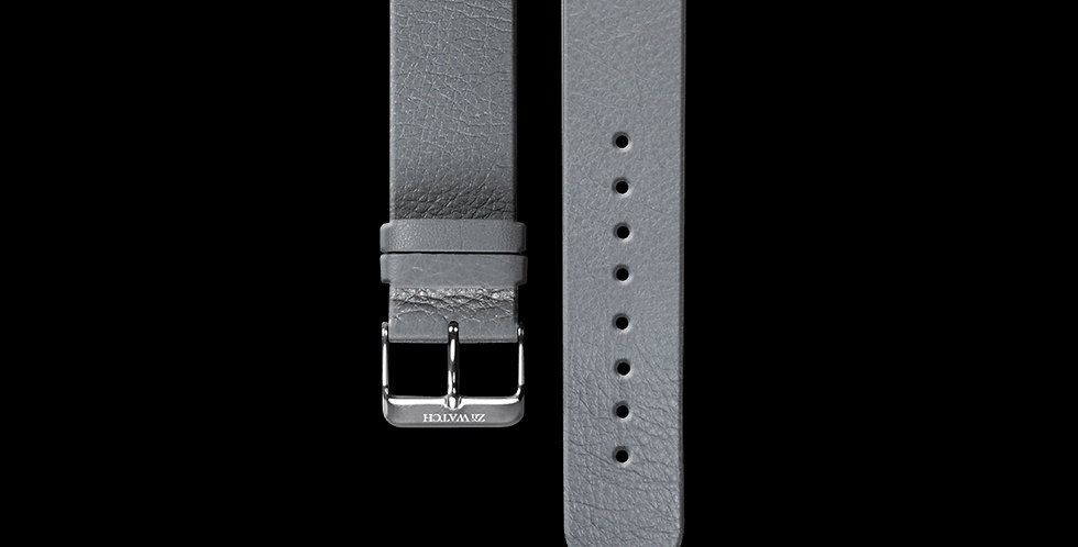 EMBOSSED LEATHER|GRAY