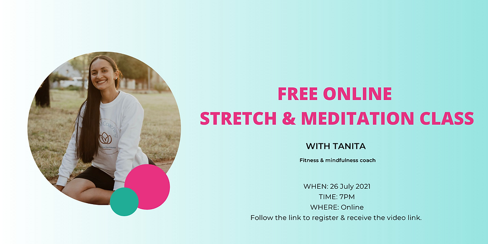 FREE online relaxation & meditation class