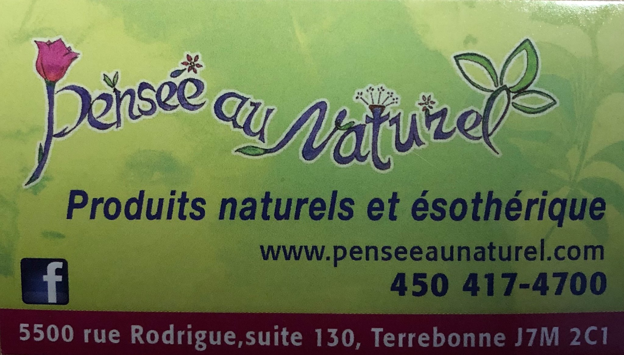 pensee au naturel