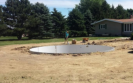 Radiant Pool Line Offers Above Ground Semi Inground And