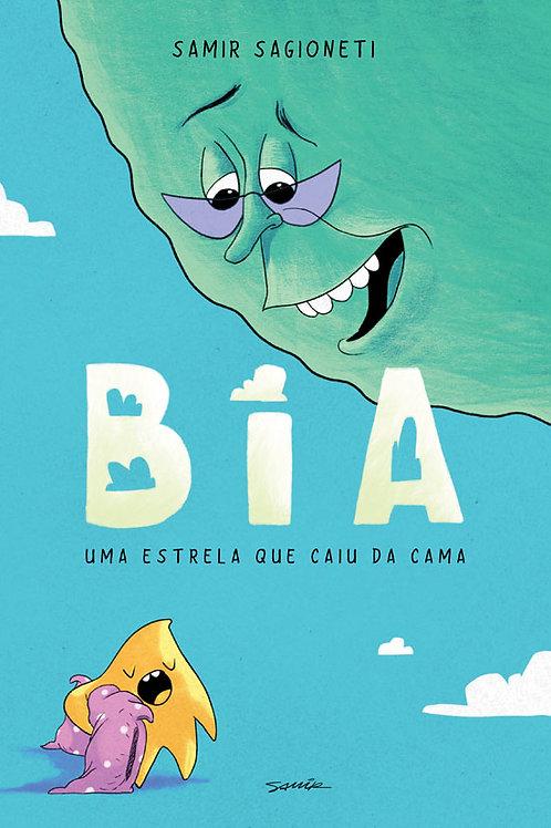 Bia, uma estrela que caiu da cama (HQ, 52 pág. Lançamento)