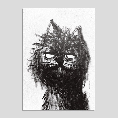 Gato Preto (Print A4)