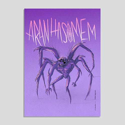 Aranhasomem (Poster PVC A4 Autoadesivo)