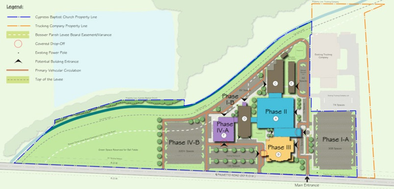 Cypress Baptist Church Master Plan