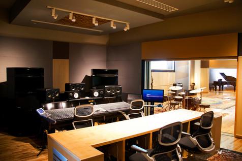 Blade Studios - Studio A Control Room