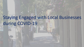 Staying Engaged with Local Businesses during COVID-19