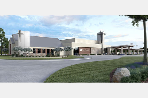First Bossier Exterior Rendering with Wh