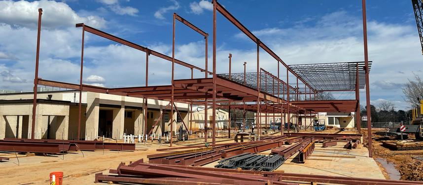 Construction Progress - Haughton High School New Classroom Wing & Administration Building