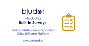 Bludot App Feature Update - Surveys and more | Aug 2020