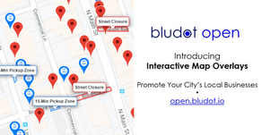 Interactive Map Overlays to Show Your City's Outdoor Dining, Curbside Pickup, and more | Bludot Open