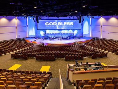 2,000 seat sanctuary