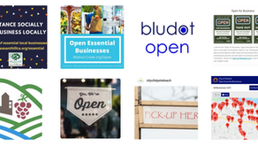Bludot Open Supporting 14 Cities' Essential Businesses