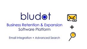 Bludot App Latest Upgrade - Email Integration + Advanced Search | Feb 2021