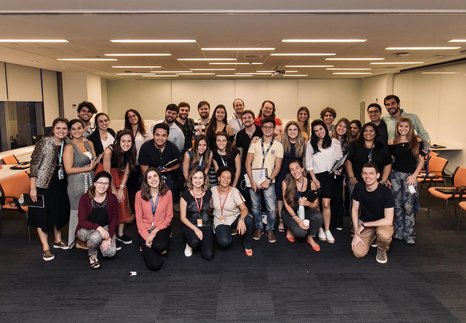 Procter & Gamble - Projeto com o time de marketing do escritório de São Paulo