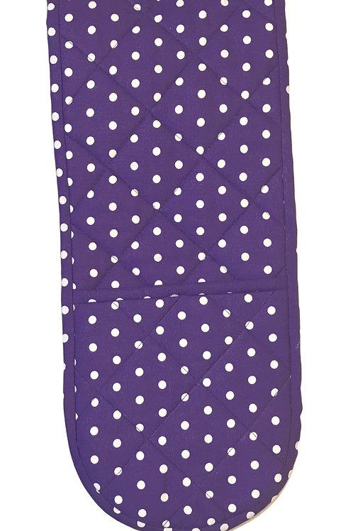 Perfect Purple Poka Pot holders
