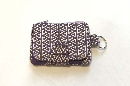 Mini Purple Wallet