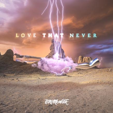 """FVCKRNDER artwork for Toki Monsta's New Single """"Love That Never"""""""