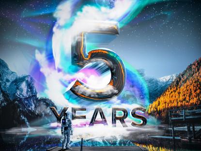 Celebrating 5 Years of H+ Creative!