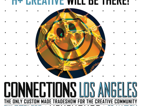 Catch H+ Creative at Le Book Connections