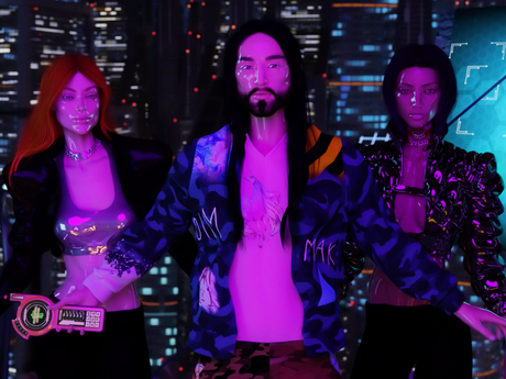 Jason Ebeyer's sci-fi inspired animations for Steve Aoki and Icona Pop