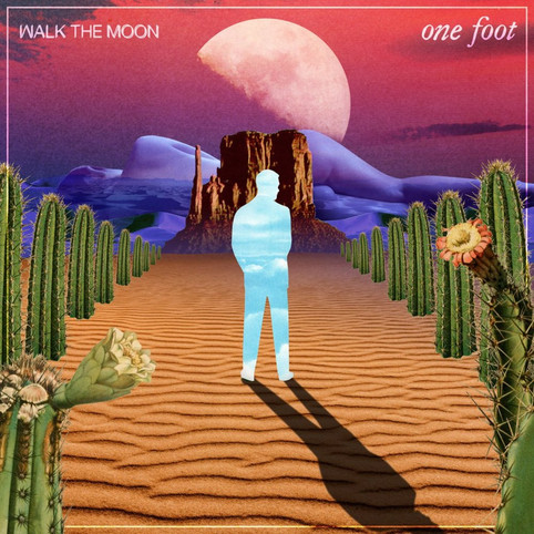 """The Invisible Realm x Walk The Moon """"One Foot"""" Single Art"""