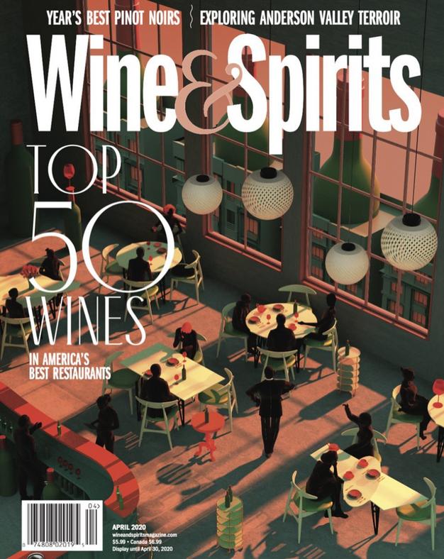 Tishk Barzanji For Wine Spirits Magazine