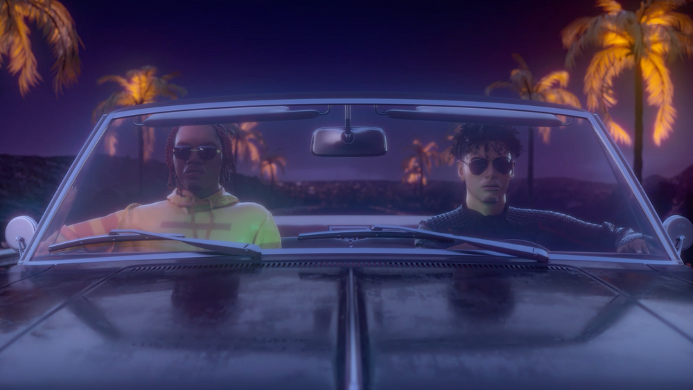 A.Chal and Gunna Joyriding