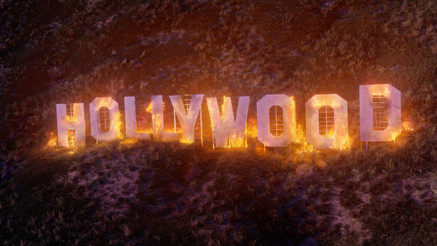 SMECCEA's Fire Burning Visualizer for A.Chal - Hollywood Love (ft. Gunna)