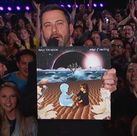The Invisible Realm x Walk The Moon on Jimmy Kimmel