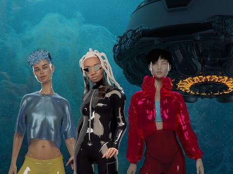 Jason Ebeyer Galactic Characters for Sensorium Galaxy