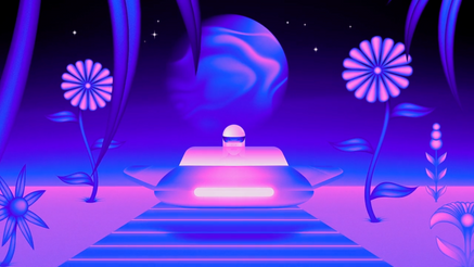 Victor Moatti's Space Trip in His MTV Ident