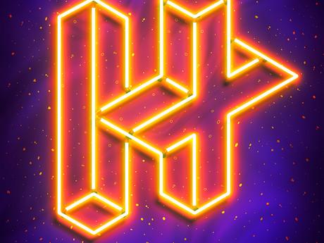 Vasya Kolotusha Designs New Neon Identity for H+