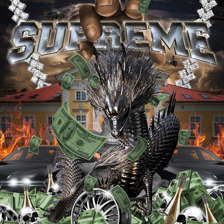 FVCKRENDER for SUPREME New York's Spring Tee Collection