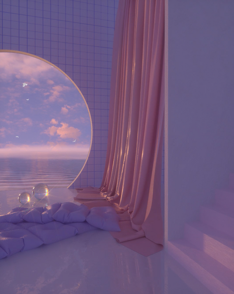 Vacation with SMECCEA in these Visualizers for Alina Baraz