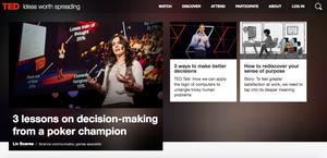 Ted Talk website