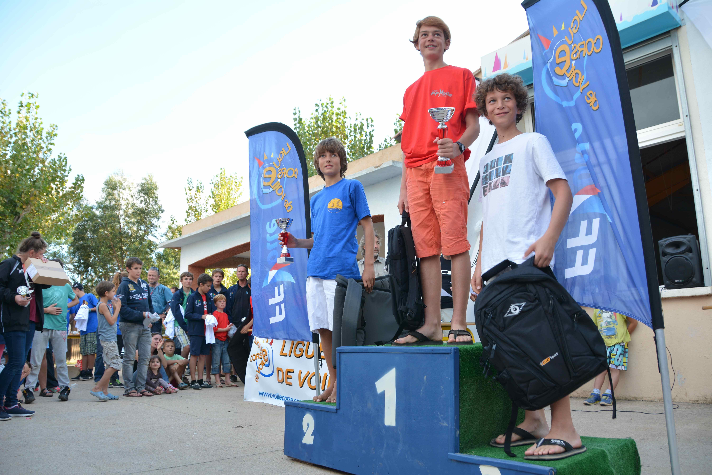 Podium U13 Corsica Cup