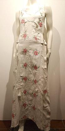 COMME DES GARÇONS (Junya Watanabe) - Robe longue lin été - S