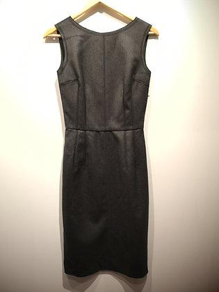 DOLCE & GABBANA, robe laine gris, 38