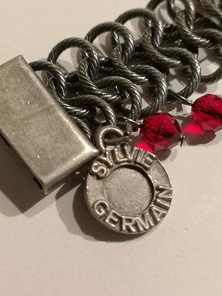 SYLVIE GERMAIN - bracelet maille