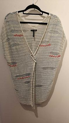 SARAH PACINI - Veste sans manche - taille unique - tricot