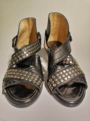 PROENZA SCHOULER - sandale cuir avec clous - 38 (8)
