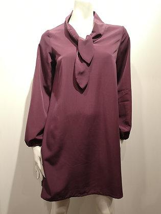 VÉRONIQUE D'ARAGON - robe manches longues - M