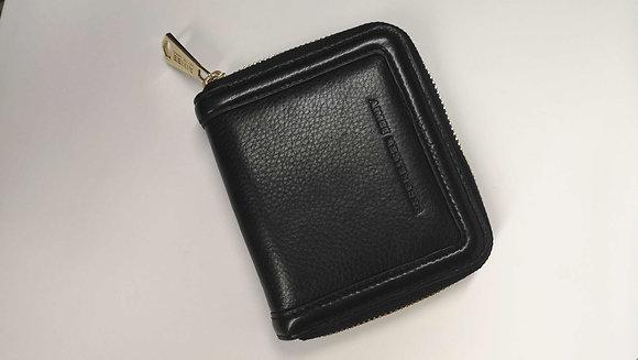 AIMÉE KESTENBERG, porte monnaie en cuir noir