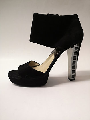 MICHAEL KORS - plateforme cuir noir - 9 1/2 (39.5)