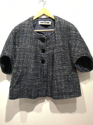TARA JARMON - Veste en laine manches courtes - M (36)