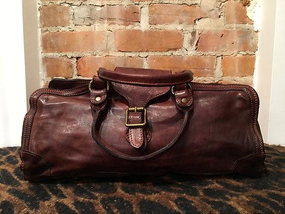 CAMPOMAGGI - Sac style médecin cuir brun C1230 VL