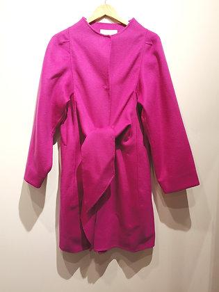 VANESSA BRUNO - Manteau rose laine et cachemire - M