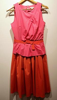 PAULE KA - Robe (rose/orange) - 38